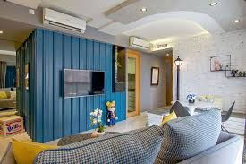 urban home interior rejuvenated singapore home inspired by piet mondrian and urban