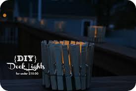 diy outdoor deck lights for 10 00 greutman