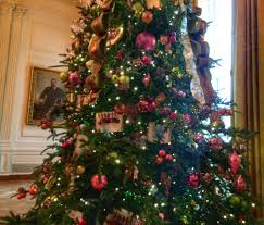 touring the white house christmas tree and holiday decorations