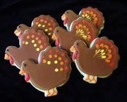 turkey sugar cookies gobble gobble holidays thanksgiving thanksgiving