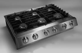 Slide In Cooktop Electrolux E36gc75ess 36 Inch Burner Slide In Gas Cooktop With