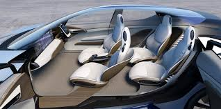 futuristic cars interior faurecia and zf team up to develop cockpit of the future carscoops