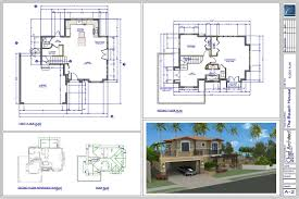 Beach House Floor Plan by Chief Architect Home Design Software Samples Gallery