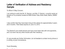 Certification Letter Format Sle Certification Letter Of Residency 28 Images Proof Of Residency