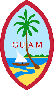 Map Of Guam Guam State Information Symbols Capital Constitution Flags