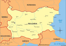 Greece On A Map Where Is Bulgaria On A Map Political Map Of Bulgaria Nations
