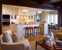 Open Concept Kitchen Floor Plans Separating Open Floor Plan Houzz