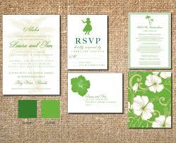 hawaiian themed wedding invitations 36 best hawaiian wedding invitations images on hawaii