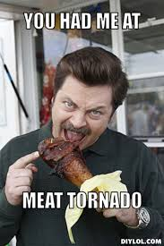 Bacon Meme Generator - ron swanson memes ron swanson meat tornado meme generator diy
