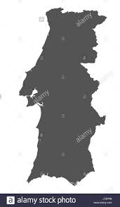 European Union Blank Map by Outline Map Portugal Stock Photos U0026 Outline Map Portugal Stock