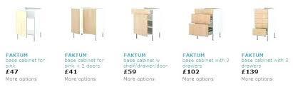 ikea kitchen base cabinets ikea cabinet widths types artistic kitchen sink base cabinet sizes