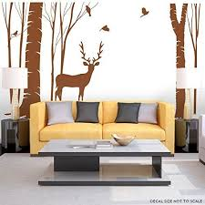 Birch Home Decor Aliexpress Com Buy New Design Birch Tree Vinyl Wall Decal