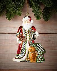 mackenzie childs santa s best friend ornament
