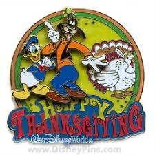your wdw store disney happy thanksgiving pin donald duck and goofy