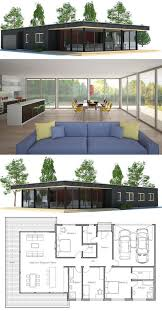 Modern House Plans With Photos 25 Best Small Modern House Plans Ideas On Pinterest Modern