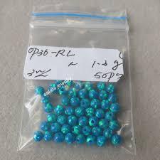 blue opal 200pcs lot op36 peacock blue opal beads 3mm round opal beads