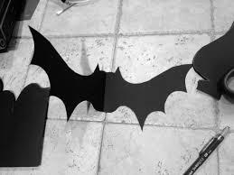 halloween diy paper bats