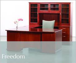 Freedom Office Desk Freedom Wood Desks Transitional Office Furniture Jasper Desk