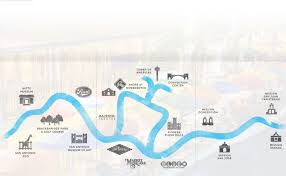 Riverwalk Map San Antonio Maps Texas Us Maps Of San Antonio Political Map Of
