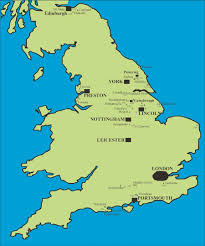 Leicester England Map by Onshore Oil And Gas Northern Mine Research Society