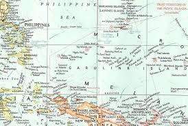 Micronesia Map Yap Island