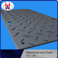 pressed uhmwpe composite ground mat cheap heavy duty floor mats