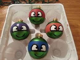 saw some shotty tmnt ornaments weeks ago my likes