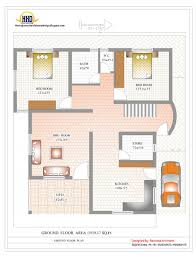 house plan duplex and elevation sq ft kerala home design indian