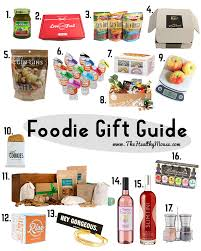 foodie gifts gift guide for foodies the healthy mouse