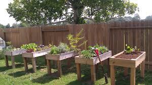 raised garden containers gardening ideas