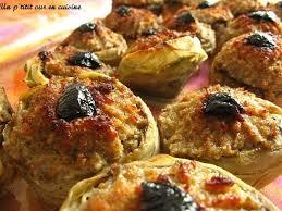 cuisine artichaut recette artichauts farcis la recette facile