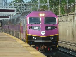 Commuter Rail by Miles On The Mbta Forest Hills