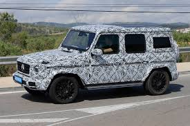mercedes g wagon new generation mercedes benz g class the spy shots gtspirit