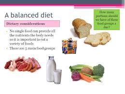diet gcse pe aims understand what a balanced diet consists of