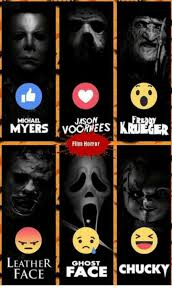 Horror Face Meme - jason michael myers voormees film horror leather ghost chucky face