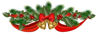 christmas ribbons christmas golden bells and ribbon png clipart image gallery