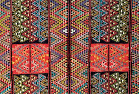Tunisian Rug African Geometric Patterns Stock Photos Page 1 Masterfile