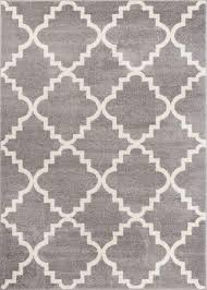 Grey Modern Rugs Moroccan Lattice Rugs Well Woven