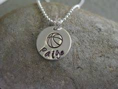 personalized basketball necklace sale personalized sterling basketball necklace team name