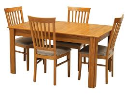 tables and chairs american style dining room with solid oak wood dining table set 4