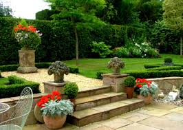 small garden design ideas with cool outdoor living furniture