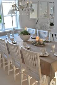 dining room white grey black chippy shabby chic whitewashed