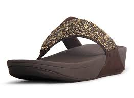 ugg sale groupon cheap fitflop womens rock chic flip flops sandals brown wp239485 jpg