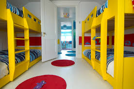 Rugs For Kids Bedroom by Fancy Image Of Kid Bedroom Decoration Using Round Red Rug For Kid