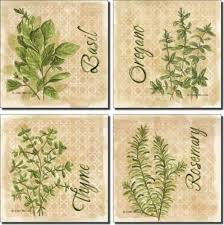 accent tiles for kitchen backsplash herbs by mullen ceramic accent tile set 4 25 x 4 25