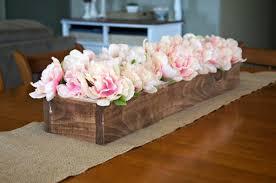 pegboard flower box centerpiece hometalk
