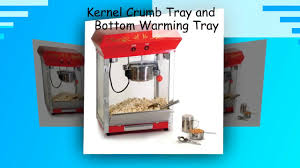 Old Fashioned Popcorn Machine Elite Deluxe Epm 450 Maxi Matic 4 Ounce Old Fashioned Red Youtube
