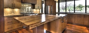 Kitchen Island Wood Countertop Supporting Wood Countertops J Aaron
