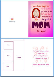 example of birthday card for her great mom