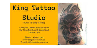 king tattoos and body piercing by aj tattoo u0026 piercing shop